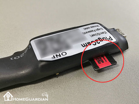 microSDカードの向き